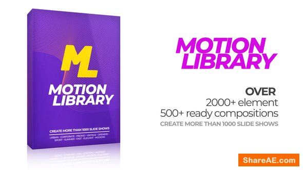 Videohive Motion Library Pack
