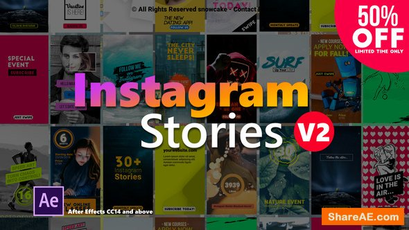 Videohive Instagram Stories 22357836