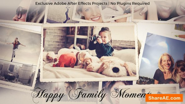 Videohive Photo Gallery - Happy Family Moments