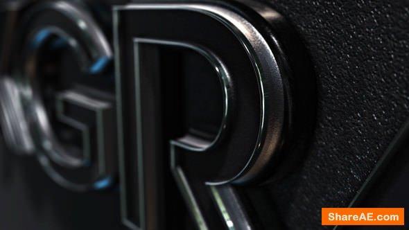 Videohive Black Logo Reveal