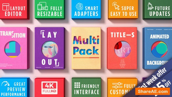 Videohive MultiPack