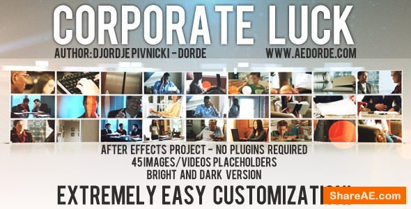 Videohive Corporate Luck