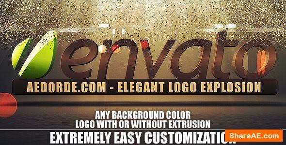 Videohive Elegant Logo Explosion