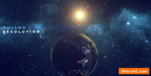 Videohive Earth Planet Title