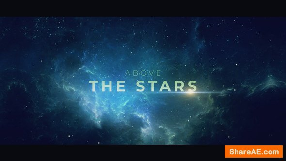 Videohive Above the Stars