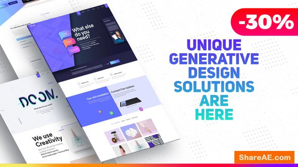Videohive Premium Website Presentation / Agency Promo / Product Showcase