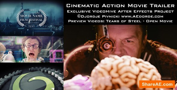 Videohive Cinematic Action Movie Trailer