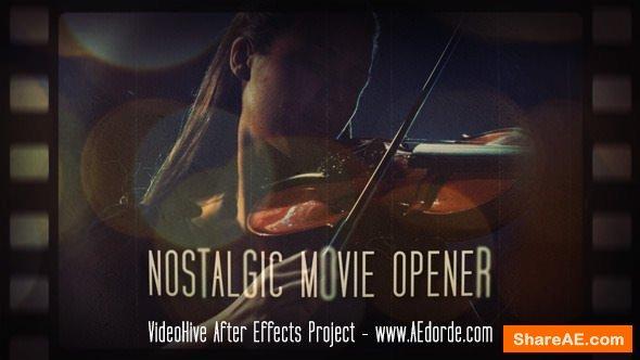 Videohive Nostalgic Movie Opener