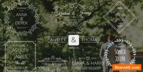 Videohive Wedding Names