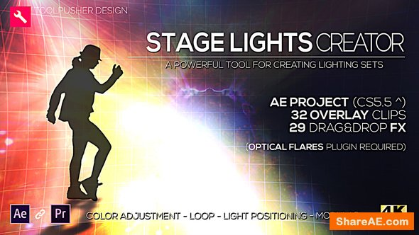 Videohive Stage Lights Creator