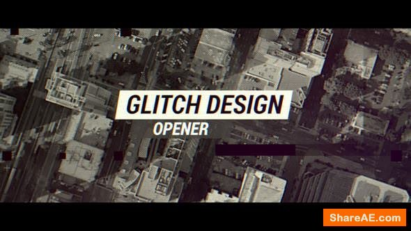 Videohive Glitch Design Opener - Apple Motion & Final Cut Pro X