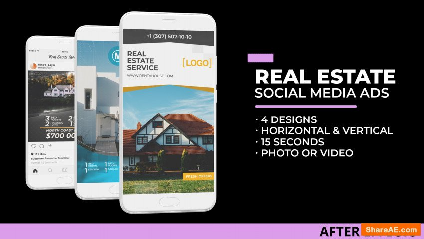 Real Estate Social Media Ads (Motion Array)