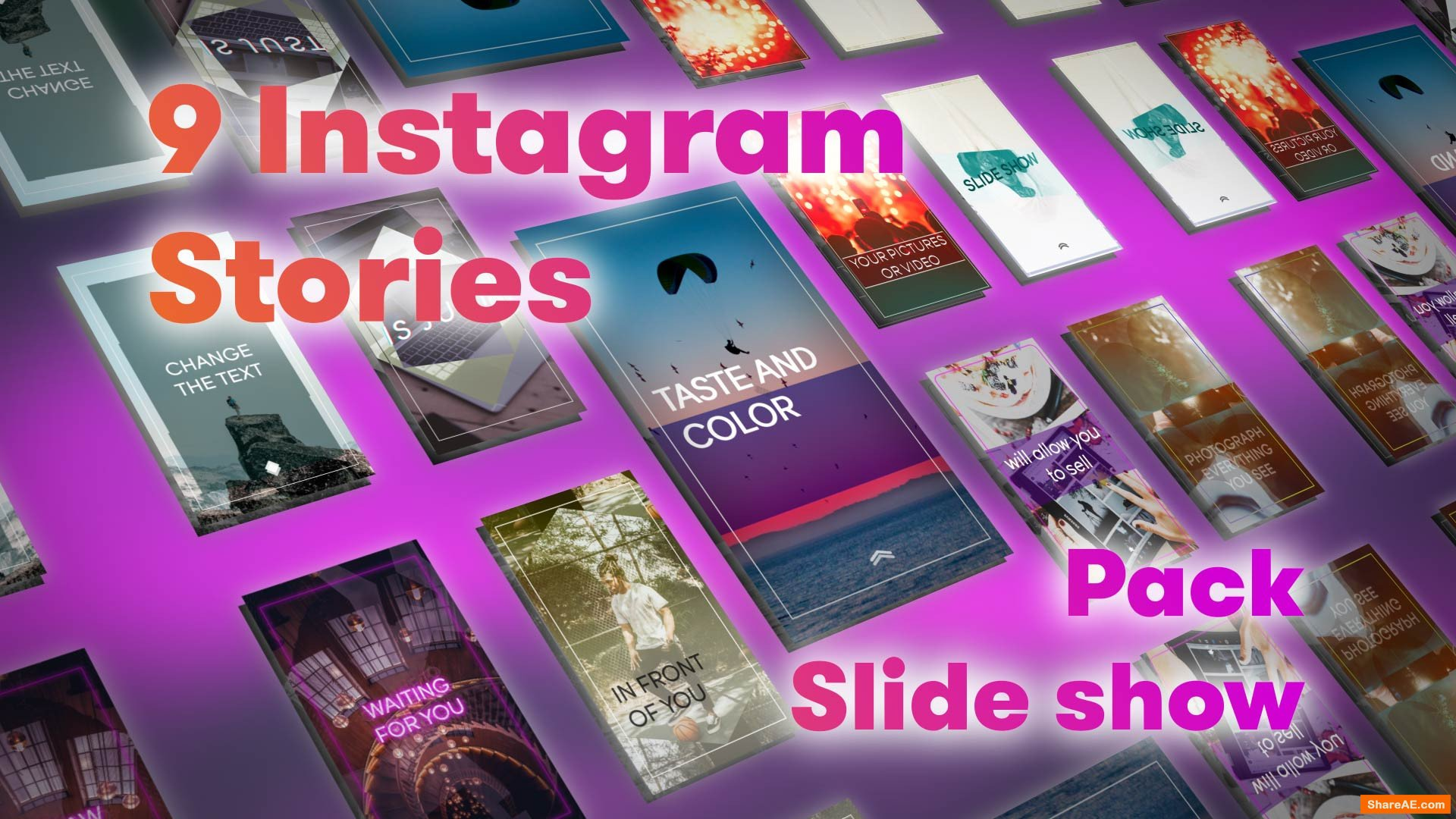 Instagram Stories Slideshow Pack (Motion Array)