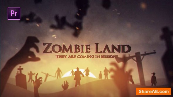 Videohive Zombie Land - Premiere Pro