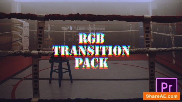 Videohive RGB Transitions Pack - Premiere Pro