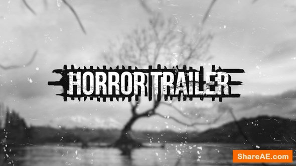 Videohive Horror Trailer - Premiere Pro » free after effects
