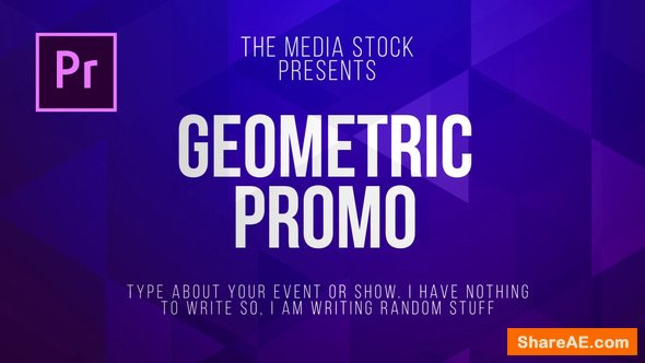 Videohive Geometric Title & Lower thirds - Premiere Pro