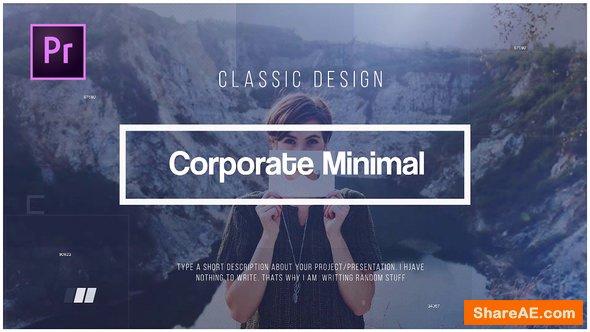 Videohive Corporate Minimal - Premiere Pro