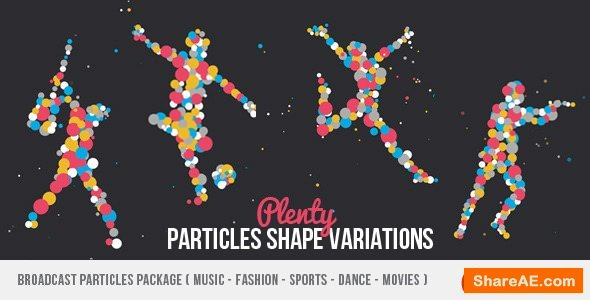 Videohive Broadcast Particles Package