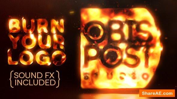 Videohive Burn Your Logo