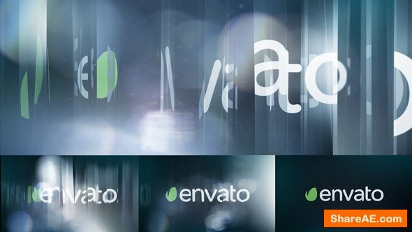 Videohive Sliced Glass & Bokeh