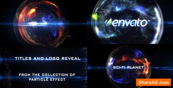Videohive Particle Effect 8 (Sci-Fi Planet)