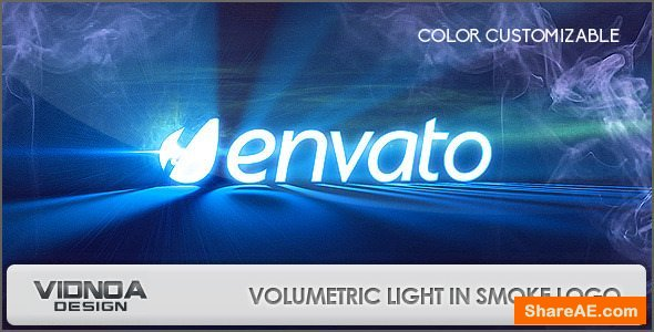 Videohive Volumetric Light In Smoke Logo