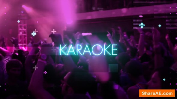 Videohive Neon Light Party