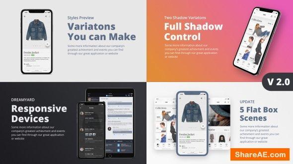 Videohive TheX - App Presentation Kit