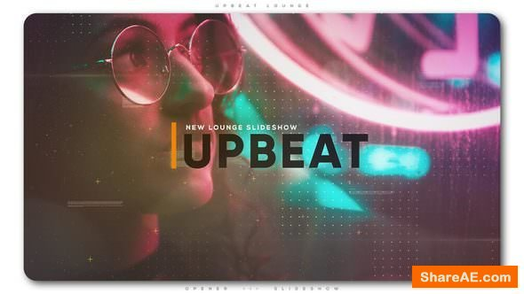 Videohive Upbeat Lounge Opener Slideshow