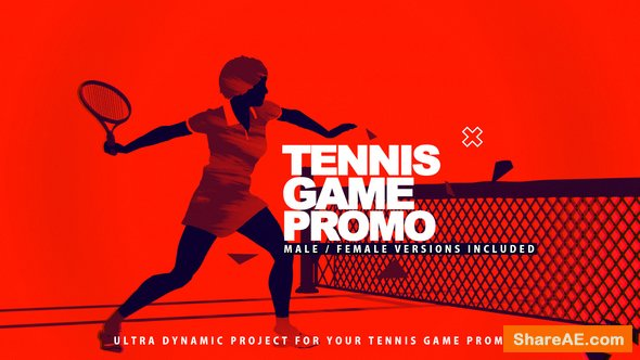 Videohive Tennis Game Promo