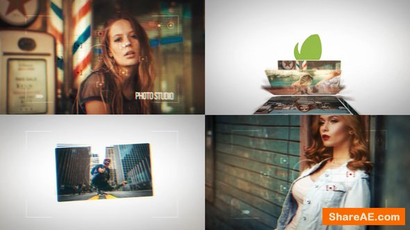 Videohive Dynamic Photo Slideshow Intros
