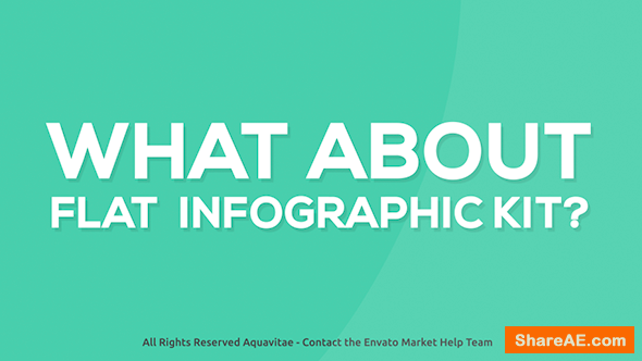 Videohive Flat Infographics