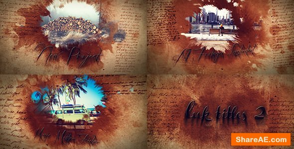 Videohive Ink Titles 2