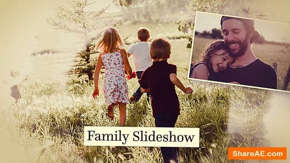 Videohive Family Slideshow