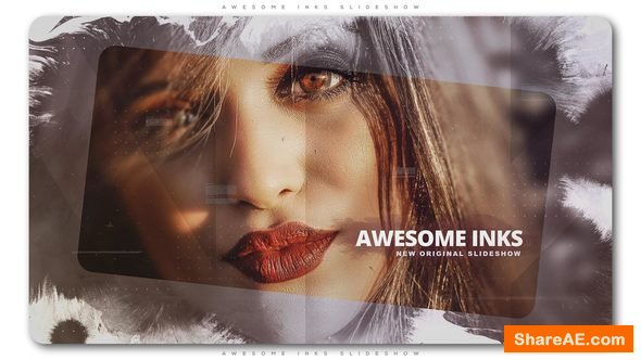 Videohive Awesome Inks Slideshow