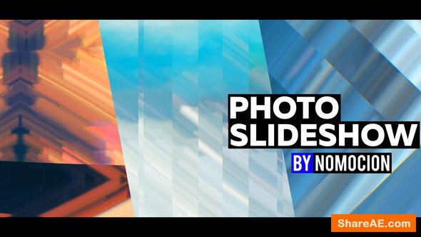 Videohive Photo Slideshow with Pixel Sorting