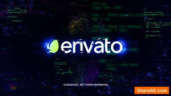 Videohive Glitch Logo Intro 20870339