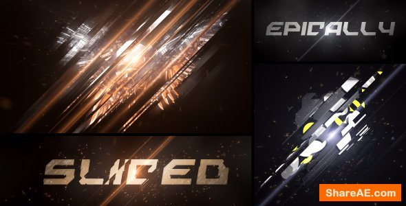 Videohive Epic Sliced Logo