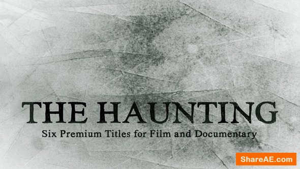 Videohive The Haunting Title Collection