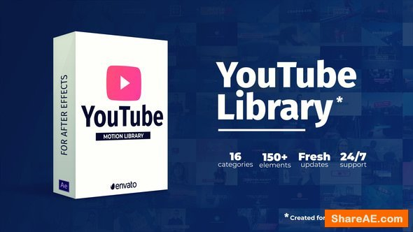 Videohive Youtube Library