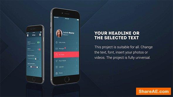 Videohive Phone 6 App Presentation