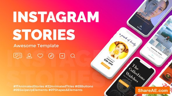 Videohive Instagram Stories 22835374
