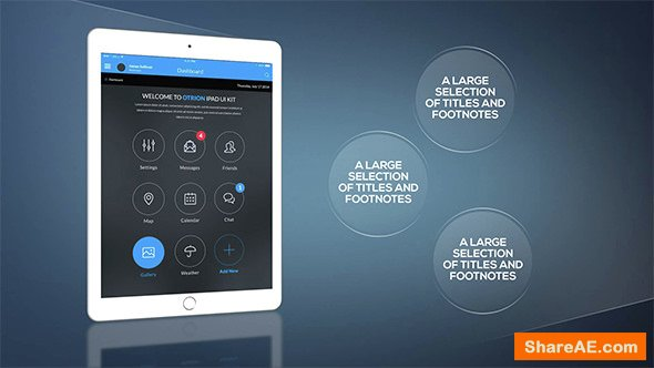 Videohive Tablet Presentation Pack 15242770