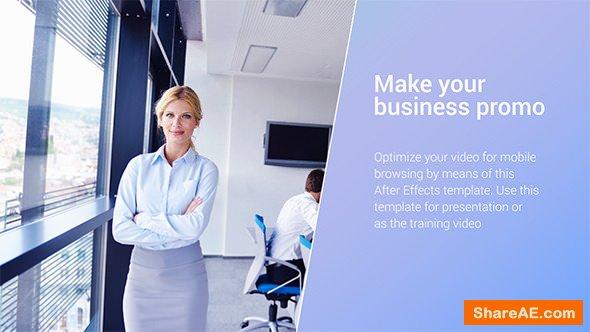 Videohive Clean Corporate Promo