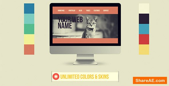 Videohive Website Presentation 6641335