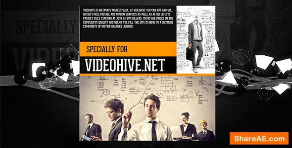 Videohive Black Box Promo