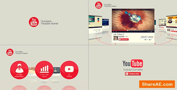 Videohive My Youtube and Vimeo Channel