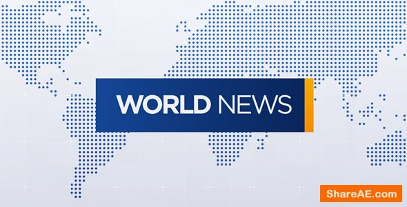 Videohive World News Broadcast Pack
