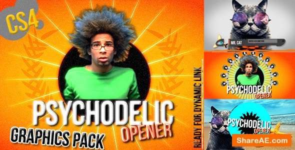 Videohive Colorful Summer Broadcast Pack - Funky Opener
